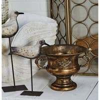 Traditional Iron Scrolled Goblet Urn Planter