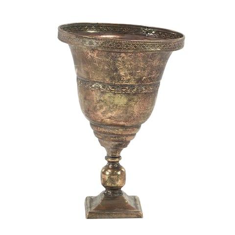 Traditional Iron Chalice Urn Planter