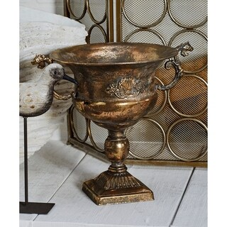 Traditional Iron Chalice Urn Planter