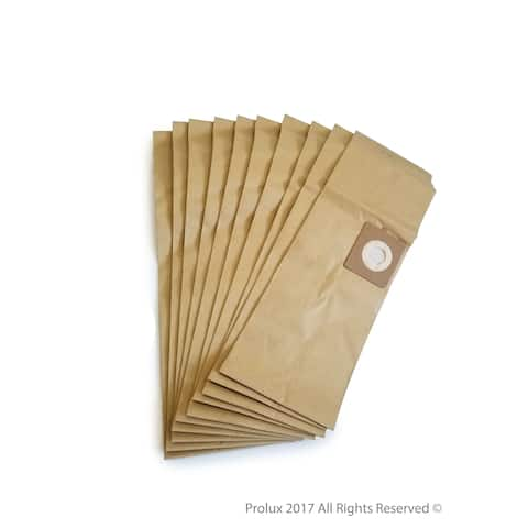 New 10 pack of bags for Prolux Commercial Canister vacuum cleaner