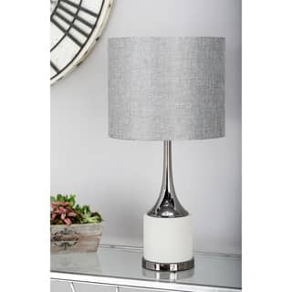 Buy concrete table lamps online at overstock our best lighting 23 inch modern concrete and iron matte gray table lamp aloadofball Gallery