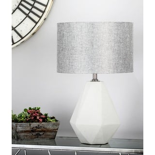in concrete lighting. Modren Concrete Modern Concrete And Iron Faceted PearShaped Gray Table Lamp With In Lighting I