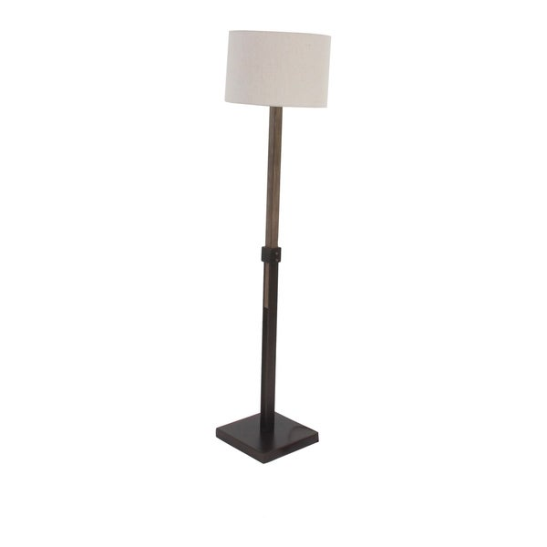 Modern Metal and Pine Wood Adjustable Floor Lamp