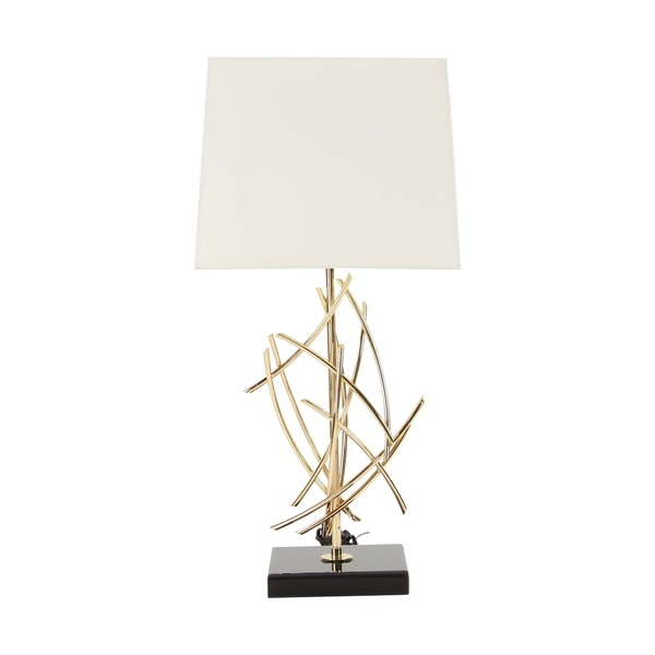 Modern Iron Flared Abstract Table Lamp