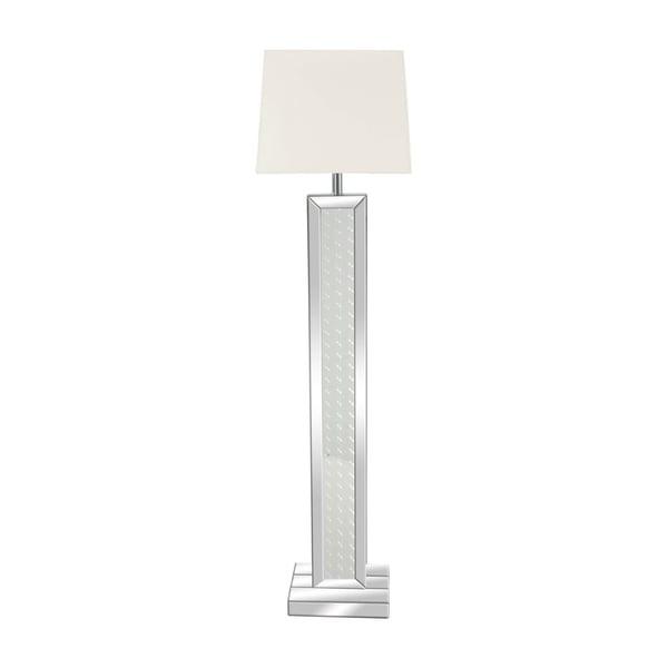 Shop Modern 65 Inch Rectangular Mirrored Wooden Floor Lamp By Studio