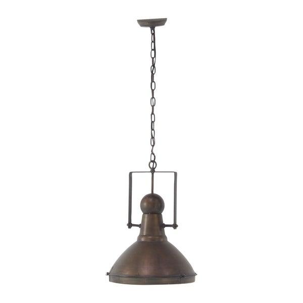 Rustic Iron Brass Pendant Lamp