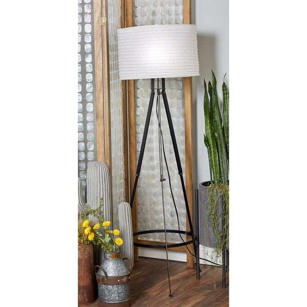 Shop Modern 60 X 23 Inch Iron Tripod Floor Lamp By Studio