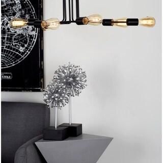 Studio 350 Black Iron 6-light Chandelier