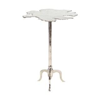 27 inch Modern Aluminum Irregular Side Table