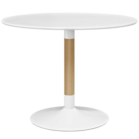 Whirl Round Dining Table - White