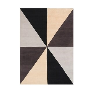 The Alliyah Fabulous Geometric Rug A Simply Made In 100 Pure Wool Fibers 5x8