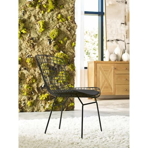 Elle Decor Holly Wire Chair,Set of 2