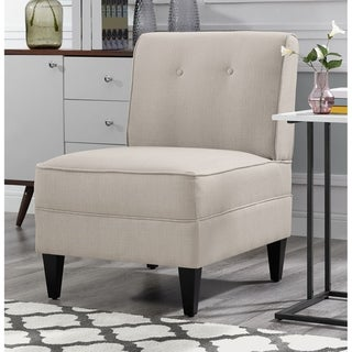 Link to Serta Copenhagen Tufted Slipper Chair Similar Items in Accent Chairs