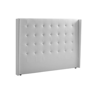 Casabianca Home 'Cozy' White Eco-leather King-size Headboard