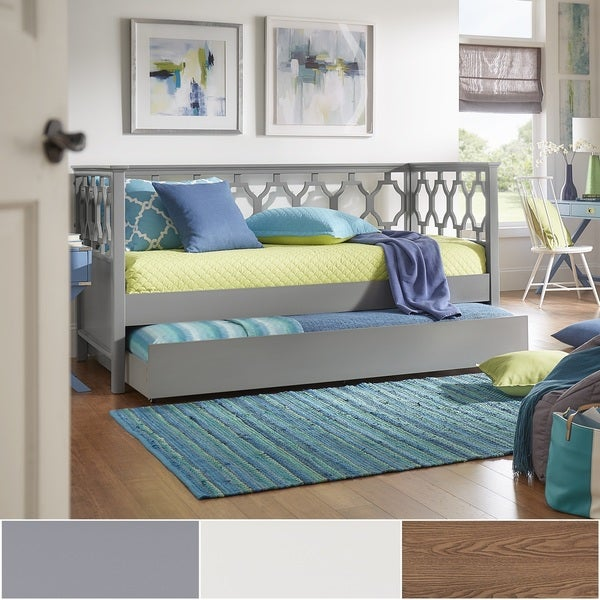 Marci Quatrefoil Wood Daybed by iNSPIRE Q Bold