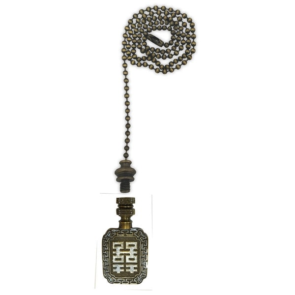 Royal Designs Fan Pull Chain With Chinese Joy Symbol Finial