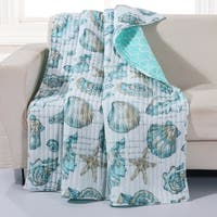 Cruz Coastal Quilted Throw