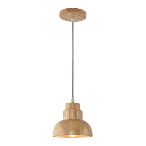 Bois Wooden Pendant Light