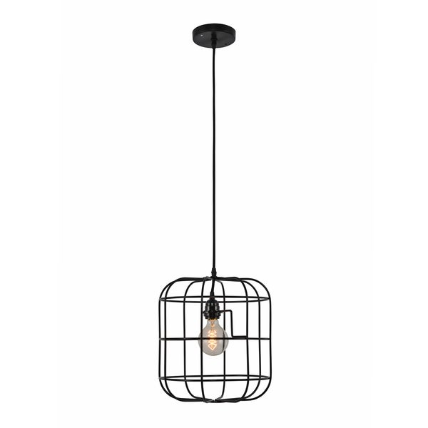 Hakissa Black Industrial Pendant Light