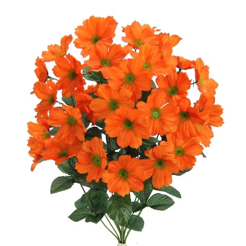 Admired by Nature 18 Stems Faux Full Blooming Wild Flower Bush