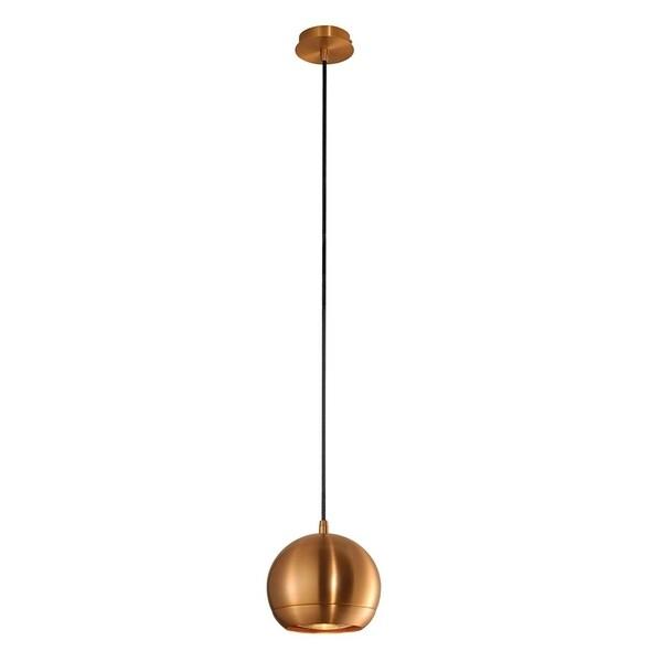 SLV Lighting Light Eye Copper Brushed LED Pendant