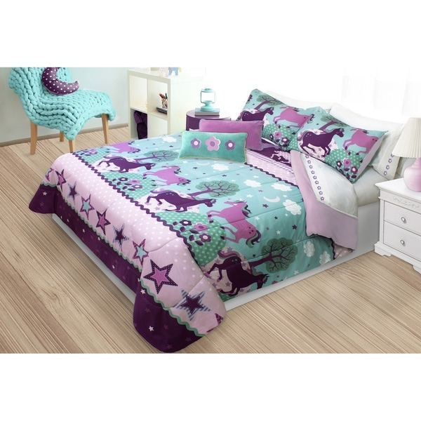 Unicorn 3-piece Comforter Set