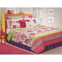 Owl 3-piece Comforter Set