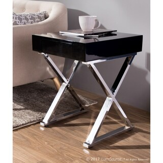 Luster Contemporary Side Table by LumiSource