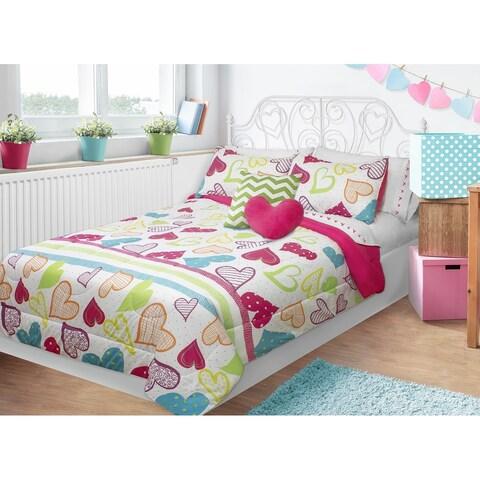 Sweet Hearts 3-piece Comforter Set
