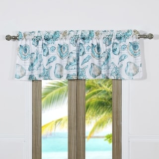 coastal window treatments beach house cruz coastal window valance buy valances online at overstockcom our best
