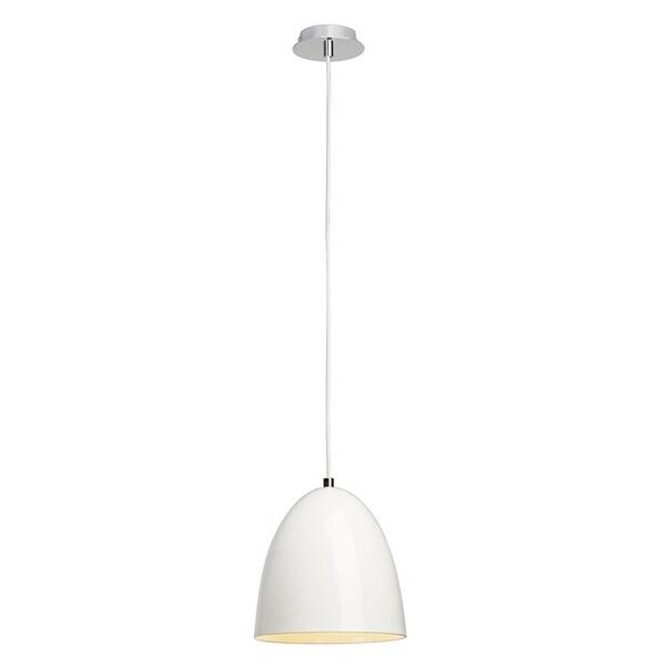 SLV Lighting Para Cone 20 White LED Pendant