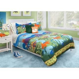 Dinosaur 3-piece Comforter Set