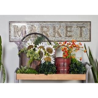 Farmhouse Iron Market Decorative Wall Sign