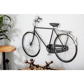 Modern Iron Black Bicycle Wall Decor