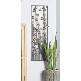 Contemporary Iron Clover Wall decor