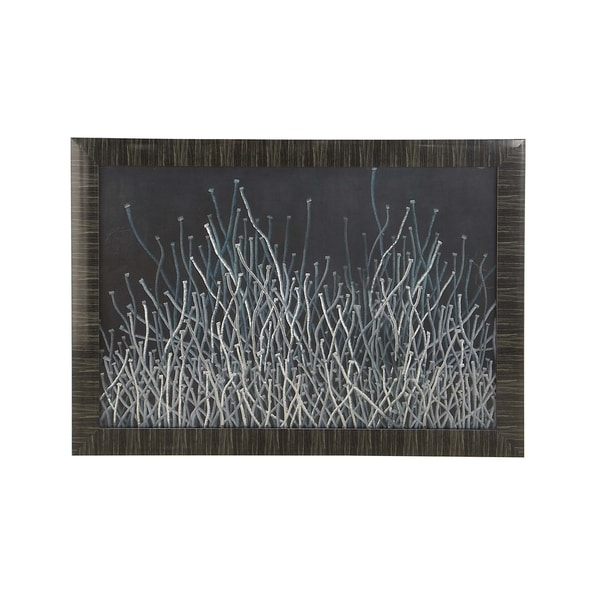 shop contemporary polystone abstract creeping wires framed art on