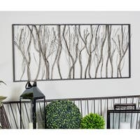Natural Iron Twigs and Branches Wall Decor