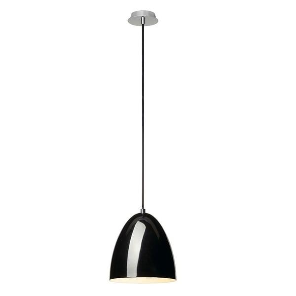 SLV Lighting Para Cone 20 Black LED Pendant
