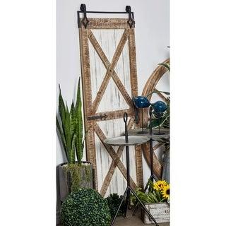 Farmhouse 67 x 25 Inch Rectangular Barn Door Wall Panel by Studio 350