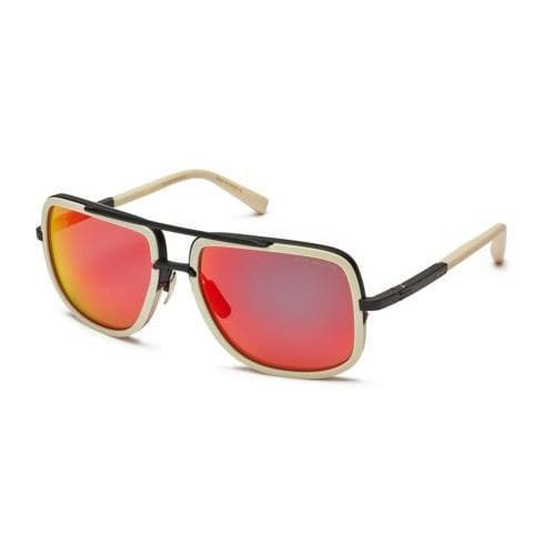 09dee7d1520 Shop Dita Mach One DRX-2030K Mens Matte Bone Black Frame Dark Grey Red  Mirror Lens Sunglasses - Free Shipping Today - Overstock - 19563619