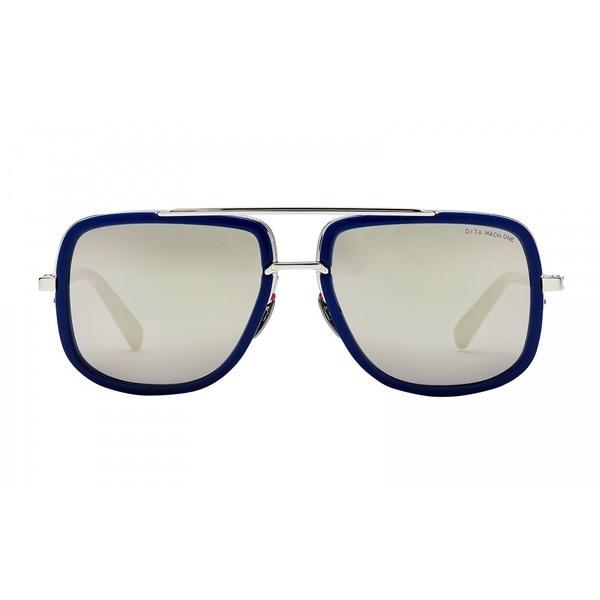 a4a4e9212d Dita Mach One DRX-2030J Titanium Blue Frame Silver Flash Lens Sunglasses