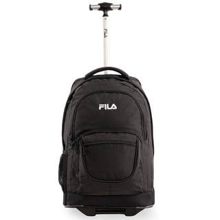 Fila 20-inch Black Rolling 15-Inch Laptop Backpack