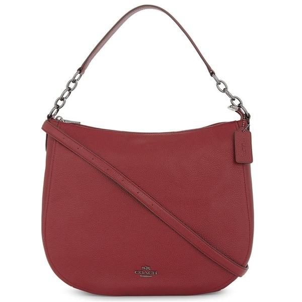 6d8e43d887 Shop Coach Chelsea 32 Pebble Leather Hobo Handbag - Free Shipping ...