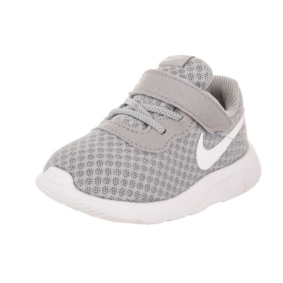 Nike Toddlers Tanjun (TDV) Running Shoe (6), Boy's, Grey ...