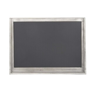 Gracewood Hollow Tapahonso Traditional Wooden Rectangular Brown Chalkboard