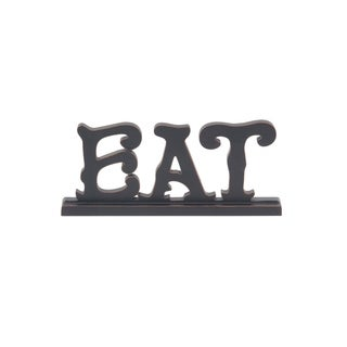 The Gray Barn Jartop Traditional Eat Wooden Sign