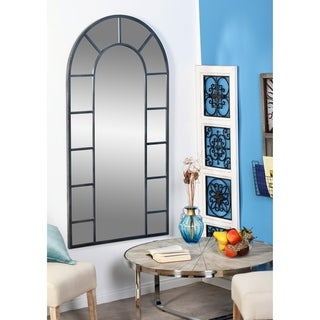 Full Length Arched Window Pane Mirror Free Shipping