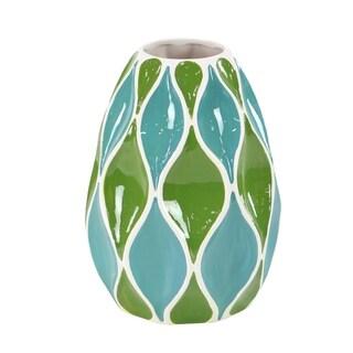 Carson Carrington Alavus Modern Ceramic Stout Bud Vase