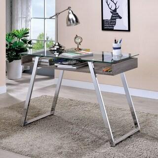 Glass Desks Computer Tables For Less Overstockcom
