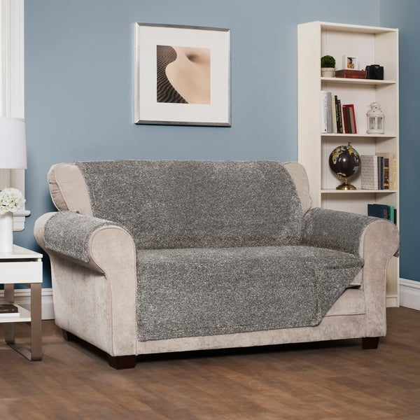 Innovative Textile Solutions Shaggy Sofa Furniture Slipcover